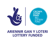 Big Lottery Fund Welsh logo