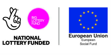 Big Lottery Fund and European Union logos
