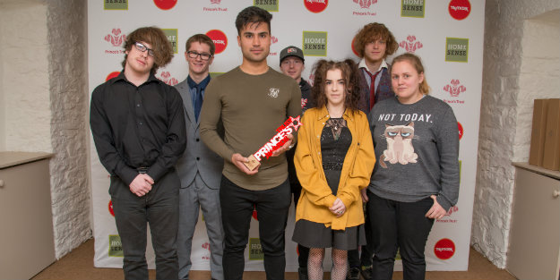 A group of young people at The Prince's Trust Awards