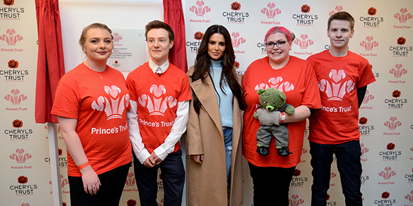 Cheryl with Young Ambassadors