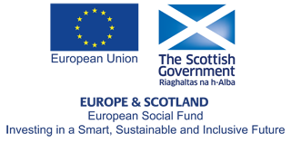 European Regional Development Fund Scotland logo