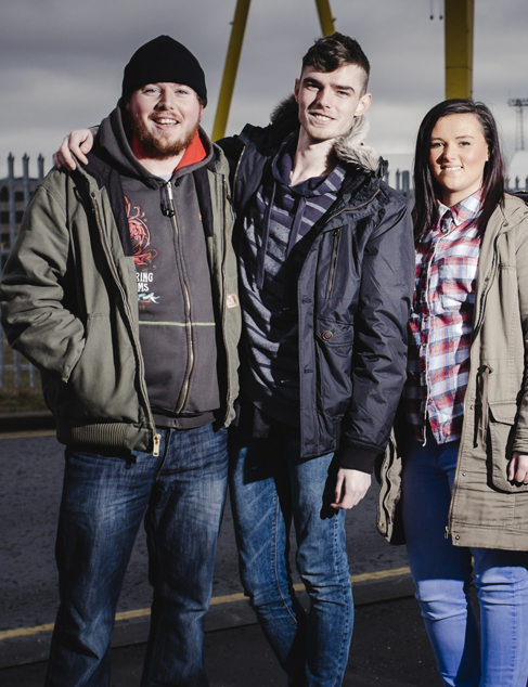 Prince's Trust young people