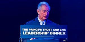 HRH The Prince of Wales speaks at the Leadership Dinner