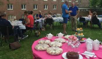 Cream tea in Kent for Volunteers' Week