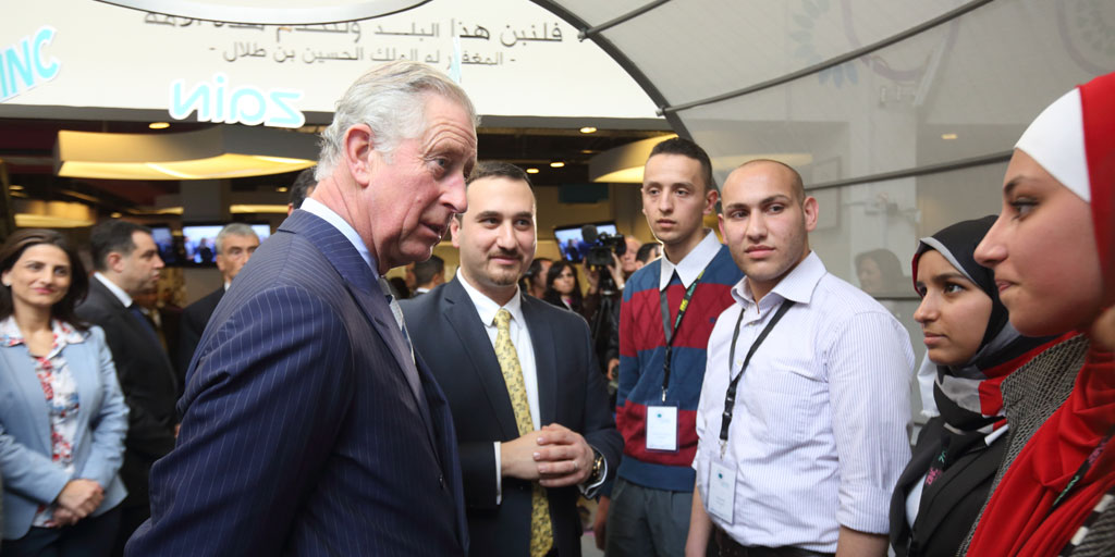 HRH The Prince of Wales visits Prince's Trust International