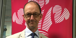 Phil Jones, the new Director of The Prince's trust Cymru