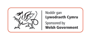 Supported by Welsh Government logo