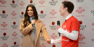 Cheryl with Young Ambassador Tom Rebair