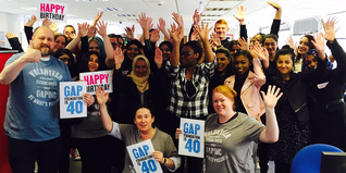 Gap Get into Retail celebration event