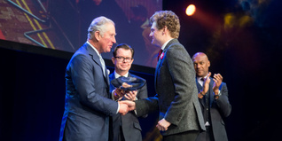 HRH The Prince of Wales heralds young people an inspiration at The Prince's Trust and TK Maxx & Homesense Awards