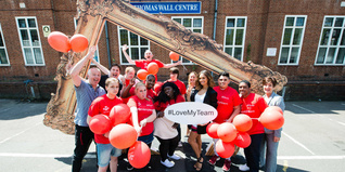 Alesha Dixon surprises young people on the Team programme