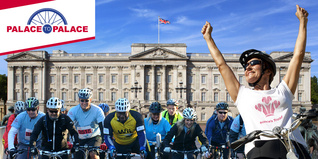 2015 Palace to Palace bike riders