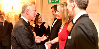HRH The Prince of Wales meets a Young Ambassador