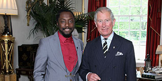HRH The Prince of Wales and will.i.am