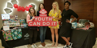 Scarlett London with Prince's Trust supported businesses
