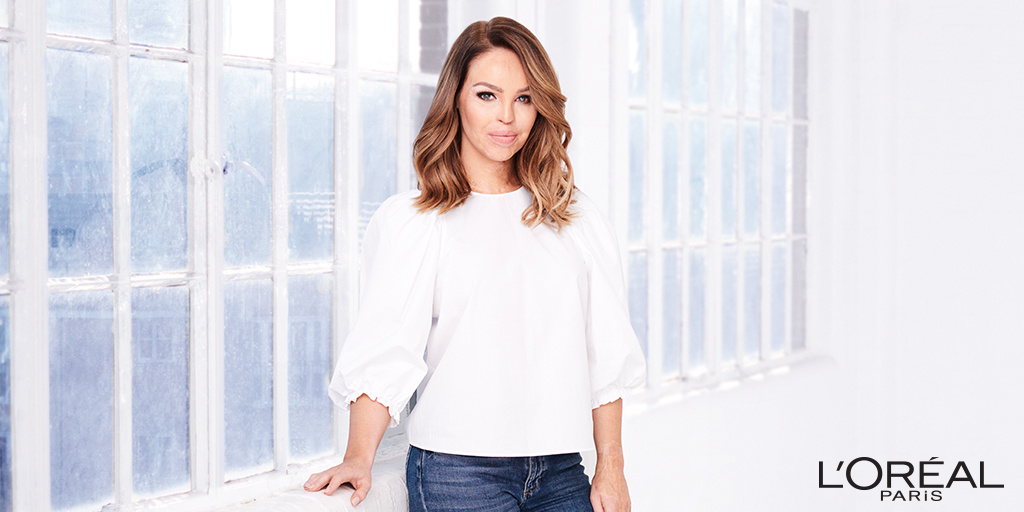 Katie Piper supports L'Oreal Paris and The Prince's Trust All Worth It programme