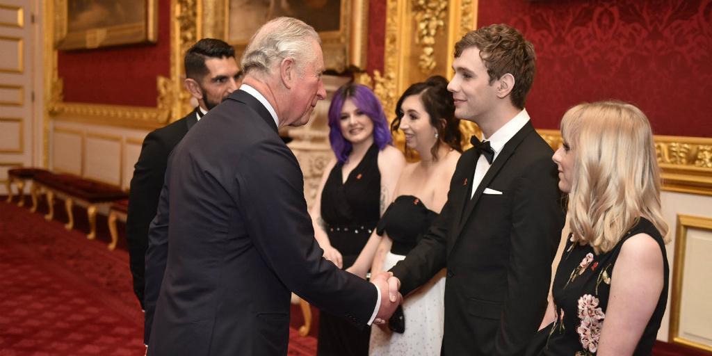 His Royal Highness The Prince of Wales attends The Prince's Trust Invest in Futures pre-dinner reception