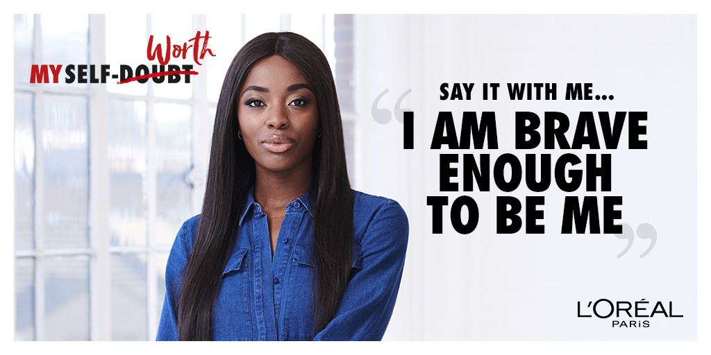 AJ Odudu supports the All Worth It programme