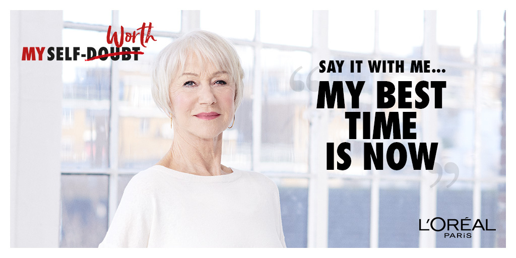 Helen Mirren supports the All Worth It programme