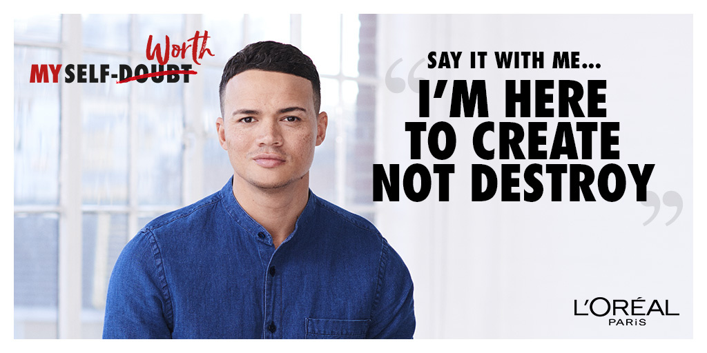 Jermaine Jenas supports the All Worth It programme