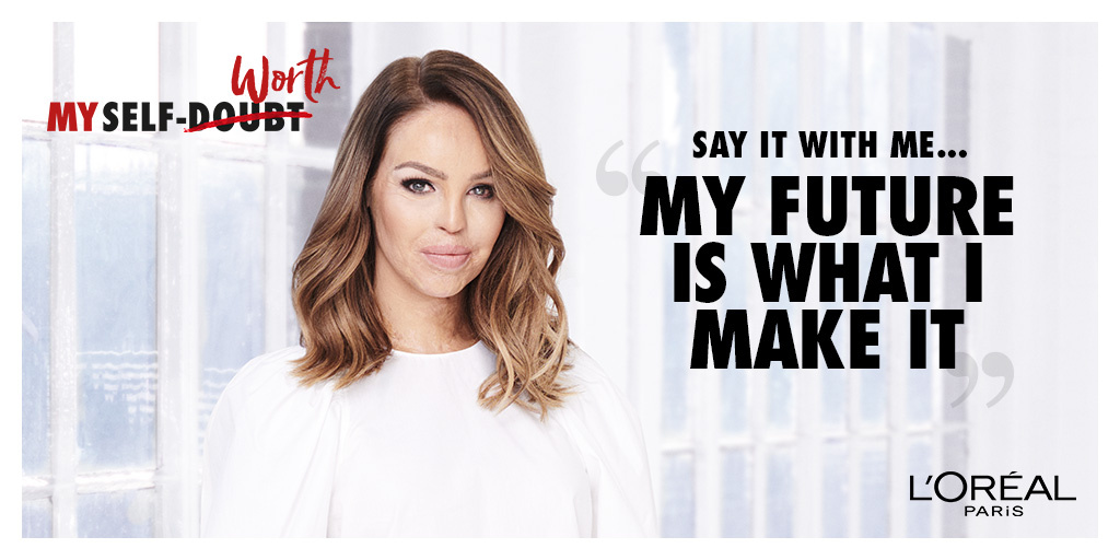 Katie Piper supports the All Worth It programme