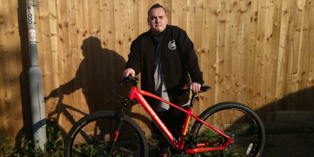Ryan Taylor, Prince's Trust supported young person