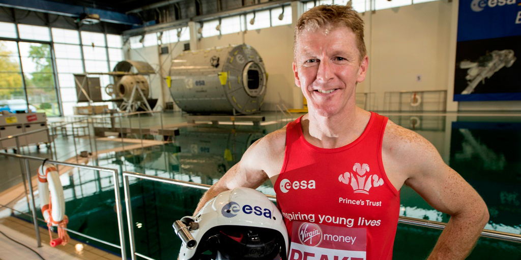 Tim Peake to run the London Marathon