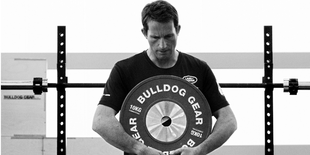 Sir Ben Ainslie with Bulldog Gear