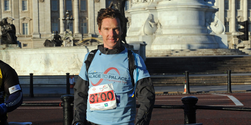 Benedict Cumberbatch at Palace to Palace 2012