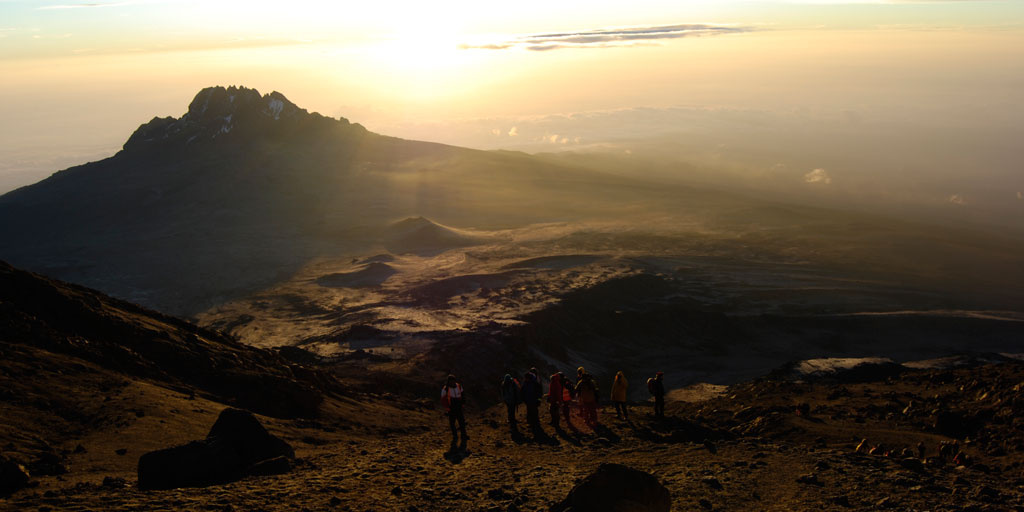 Picturesque view of Kilimanjaro