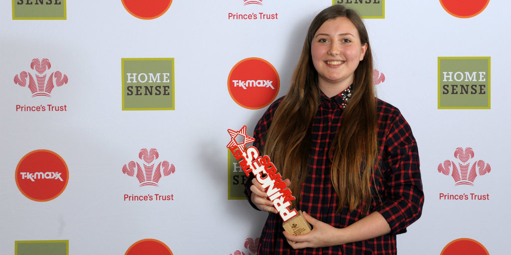 Milly Rawley, winner of our London Young Ambassador Award 2017