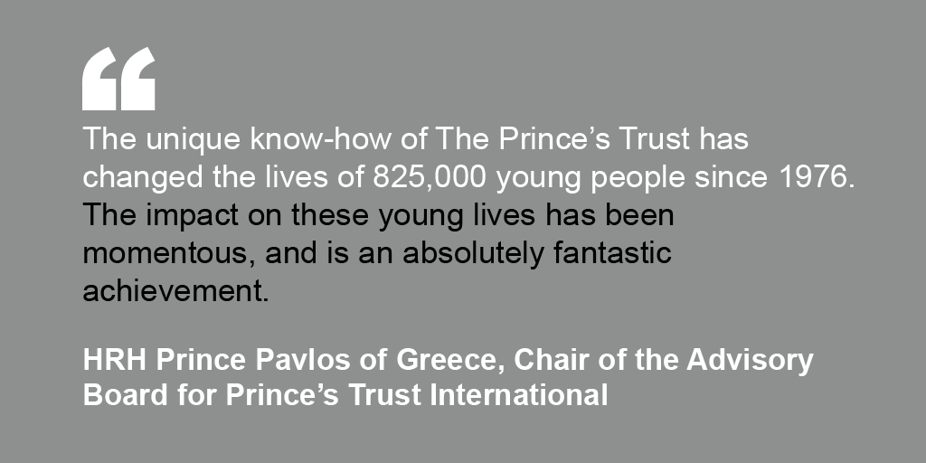 HRH Prince Pavlos of Greece's endorsement for The Prince's Trust