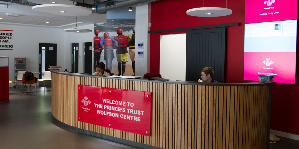 The Prince's Trust Scotland Glasgow Centre interior