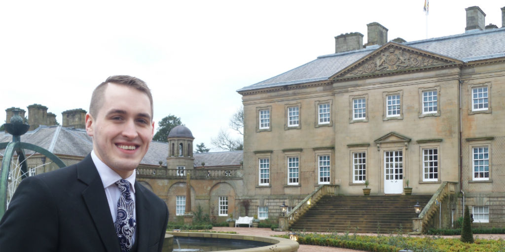 Stuart Banks at Dumfries House, the 18th century stately home in Ayrshire, Scotland