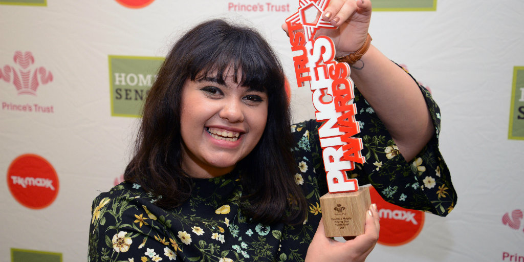 Yasmina Magdy, winner of our Newcastle Rising Star Award 2017