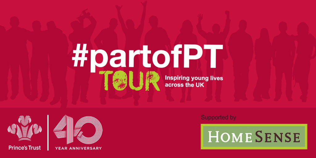 #partofPT tour supported by HomeSense