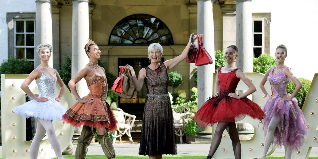 Judy Murray with Scottish Ballet