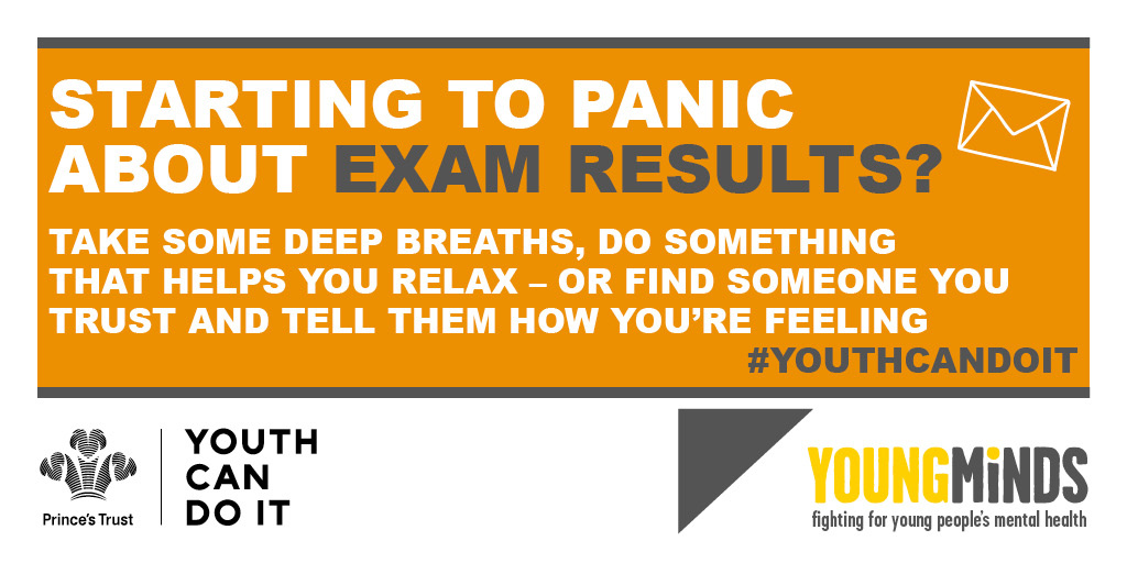 Starting to panic about exam results?